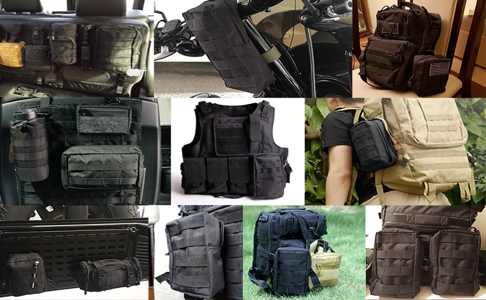 tactical molle gear pouch