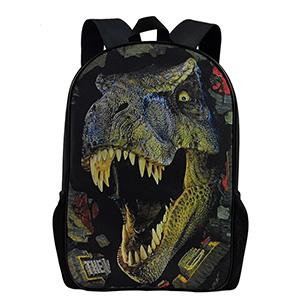 Ruin Dinosaur Kids Backpack Schoolbag Fashion Girls Boys Outdoor Daypack Students Children Bookbags