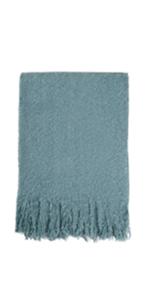 Brushed Weave Throw Blanket