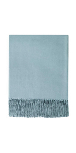 Faux Cashmere Throw Blanket