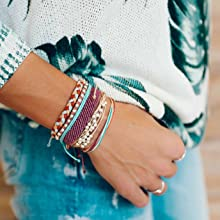 colorful bracelets jeans girls hand