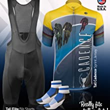 Retro Active Cycling Jersey and Padded Bicycle horts cd1ea3bbb