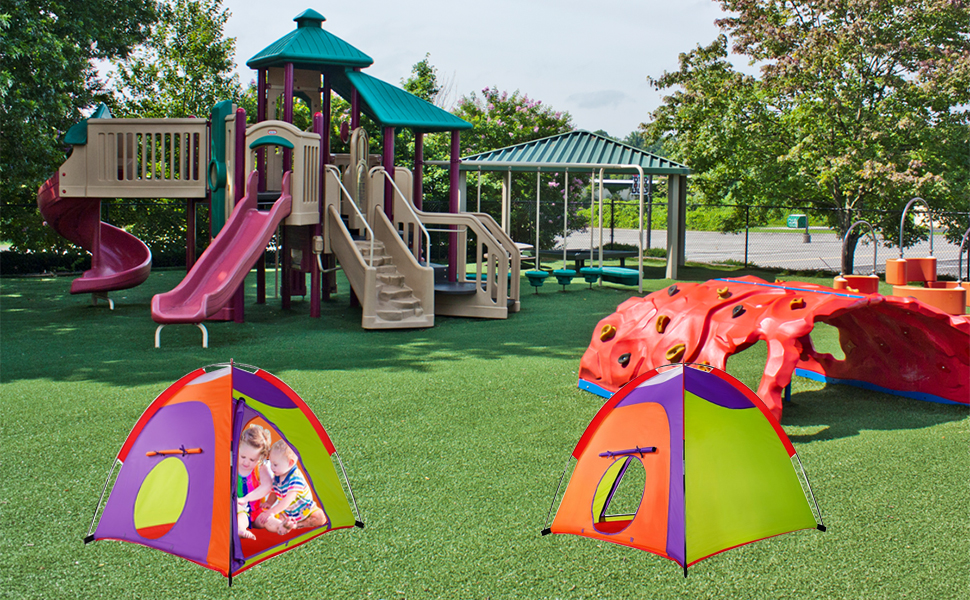 Our Play tents are for multi-purpose use. We see many clients enjoying their play tents indoors and outdoors. Alvantor INC. is internationally known for the ... & Amazon.com: Kids Tent Colourful Curvy play tent Pop Up Tent Play ...