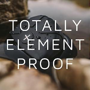 Totally element proof camera lens cap