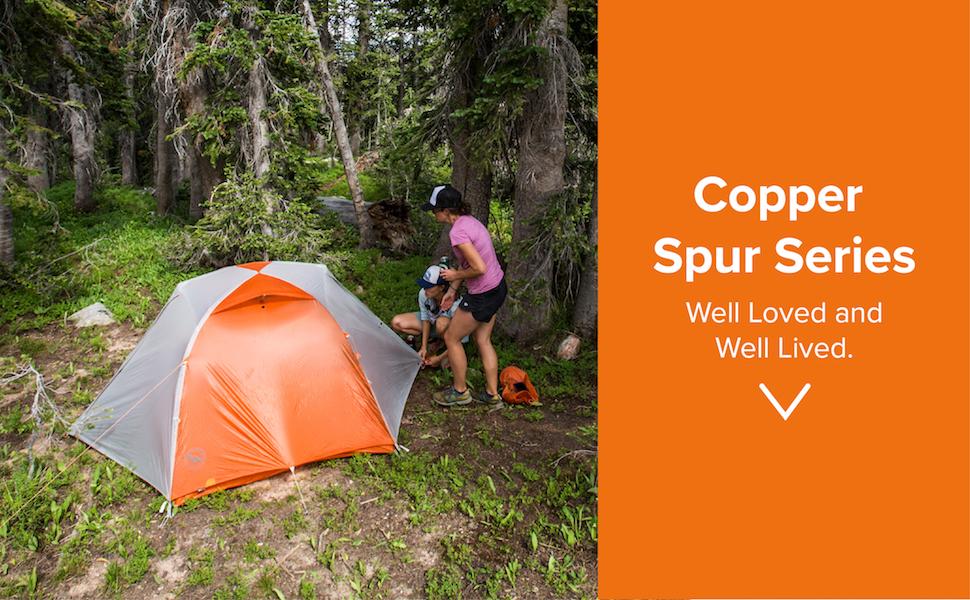 Big Agnes Copper Spur HV UL tent banner