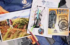 Amazon.com: Deuter Fox 30 Kid's Hiking Backpack, Fire