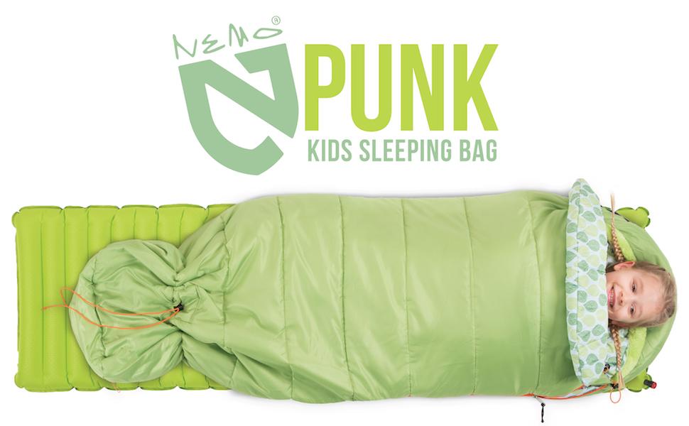 Amazon.com: Nemo Punk 45 grados Kids saco de dormir, talla ...