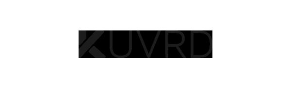 KUVRD Lens Caps Logo