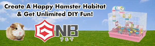 GNB PET hamster cage