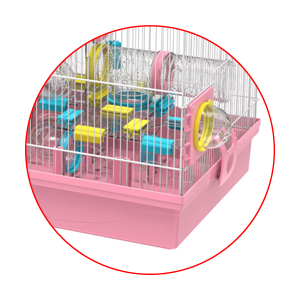 removable hamster cage