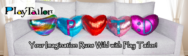 heart pillow with sequins that change colors color change pillow sequin reversible pillow