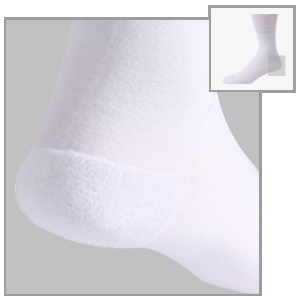 cushioned diabetic socks crew