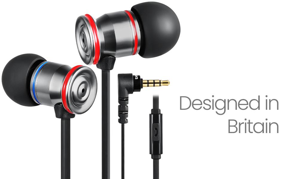 betron mk23 noise isolating earphones