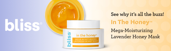Bliss In The Honey Mega Moisturizing Lavender Honey Mask - See why it's all the Buzz!