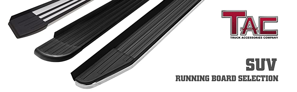 Amazon Com Tac Running Boards Fit 2016 2019 Honda Pilot