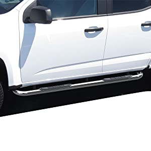 ICI SIX58DG 6 Oval Stainless Step Bar for Dodge Ram Quad Cab Light Duty//Heavy Duty