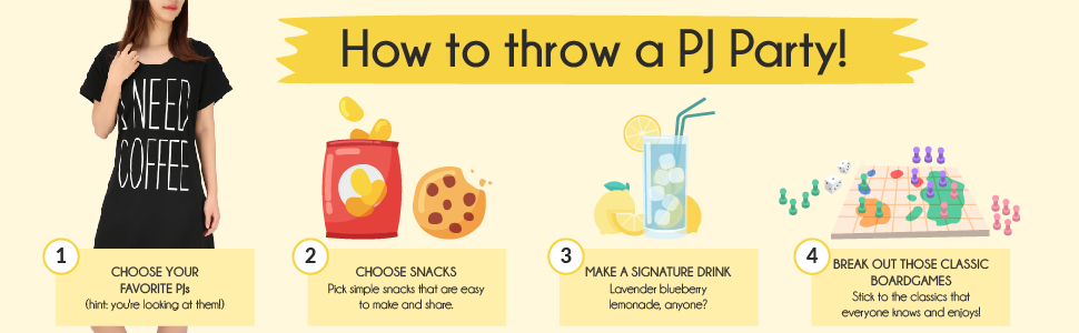How To Throw A PJ Party