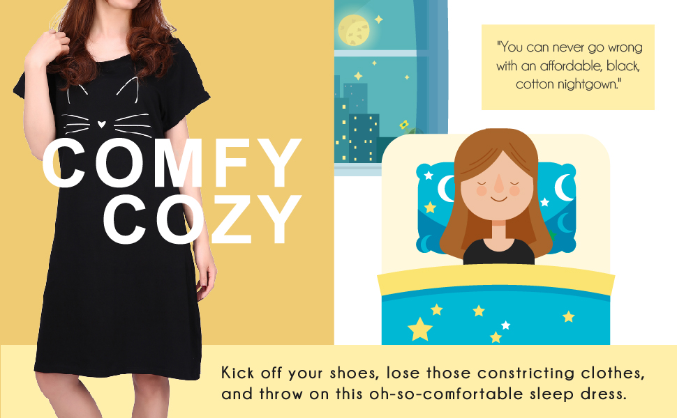 Comfy Cozy Nightgowns