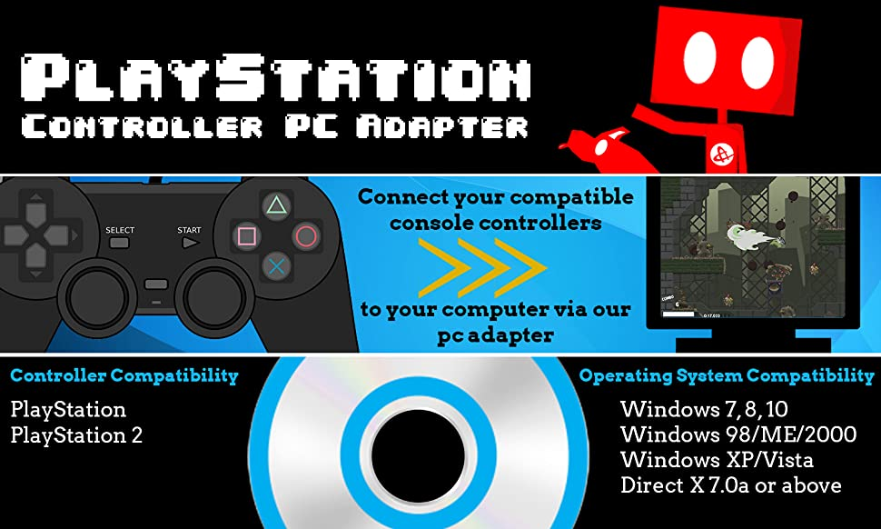 how to setup ps2 controller on pc