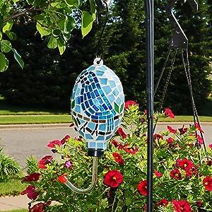 bird feeder in use