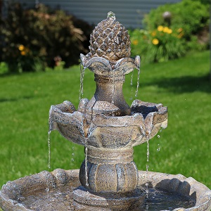 Sunnydaze Decor Knows That Having Many Options Is Important, Their Outdoor Solar  Fountains Range From The Classic Traditional Choices To Contemporary And ...