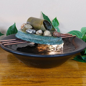 Sunnydaze Decor Designs Tabletop Fountains That Are Stylish And Functional.  This New Electric Powered Tabletop Fountain Will Be The Center Of Attention  In ...