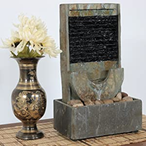 SUNNYDAZE TABLETOP FOUNTAINS HAVE MANY FEATURES