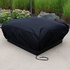 Amazon Com Sunnydaze Square Fire Pit Cover Heavy Duty