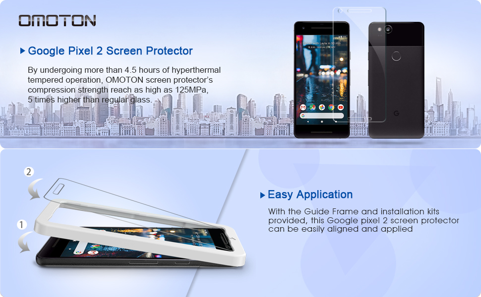 google pixel 2 screen protector