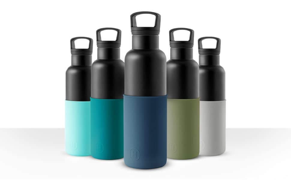 vacuum insulated water bottle,  stainless steel, big open mouth