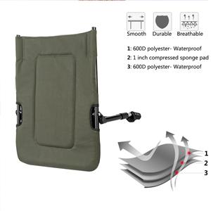 Amazon Com Vingli Folding Fishing Chair Plus Foot Rest