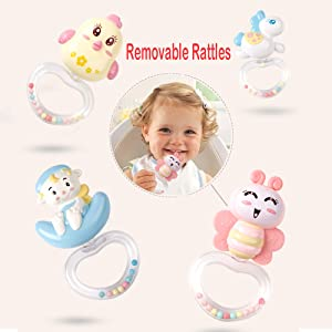 removable rattles
