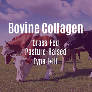 Bovine Collagen Grass-Fed Pasture-Raised Type I+III