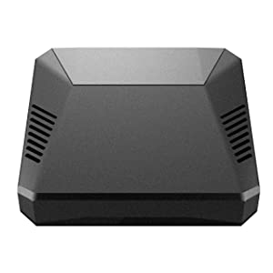 Argon One Mini Computer Case for Raspberry Pi 3 B+/B | Includes 5.25V/3A Power Supply | Aluminum Enclosure | Passive and Active Fan Cooling | Power ...