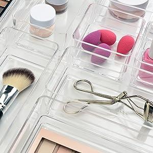 makeup drawer organizers