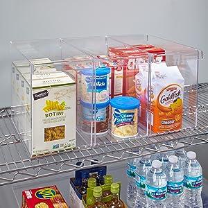 pantry organizer bins
