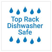 top rack dishwasher safe