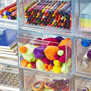 craft organizer drawers