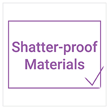 shatter-proof materials