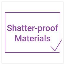 shatter-proof materials