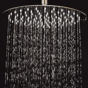quickly connects to any standard shower arm no tools required create a spalike oasis in your bathroom with this rain shower head - Ceiling Shower Head