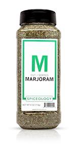 spiceology spiceologist marjoram dried herb herbs herbes