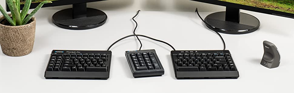 kb900 freestyle pro split keyboard mechanical ergonomic