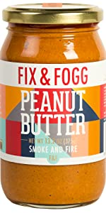 Fix and Fogg Smoke and Fire Peanut Butter