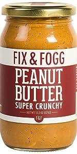 Fix and Fogg Super Crunchy Peanut Butter