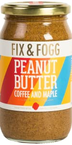 peanut, butter, coffee, maple, fix, and, fogg