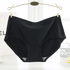 Seamless Underwear Invisible Bikini No Show Nylon Spandex Women Panties