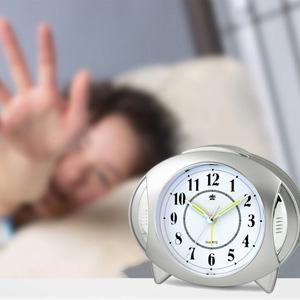 Amazon.com: Analog Alarm Clock Kids Clock Small Travel Loud Alarm ...