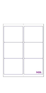 amazon com laser ink jet white labels 4 x 1 1 3 14 per page