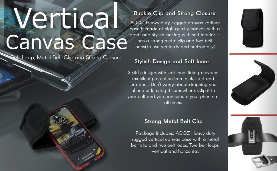 Carrying Case ASUS ZenFone V V520KL Live V500KL 3 Laser ZC551KL Holster Pouch Cover Clip Belt